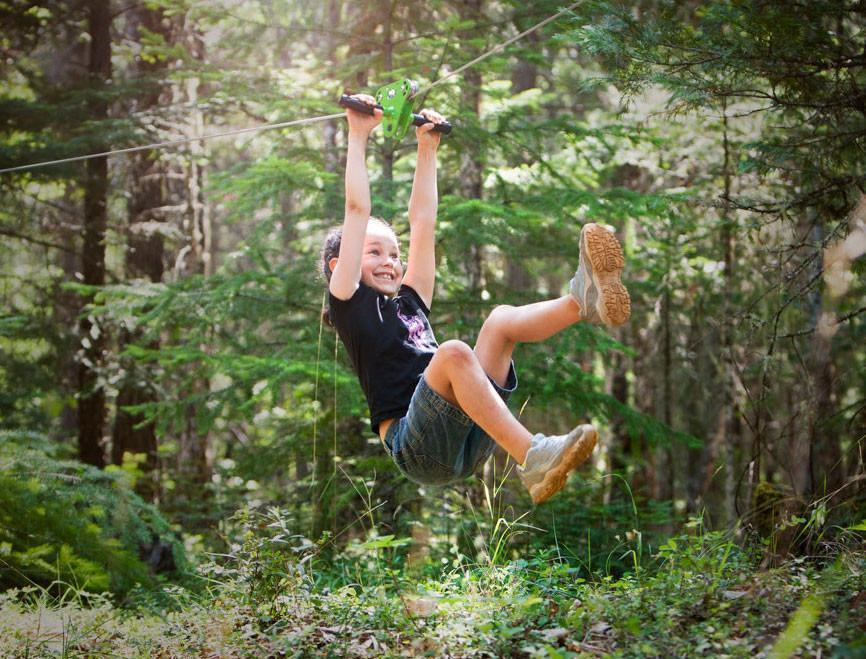 Schools Almost Out, Whats Your Plan? Backyard Zip line ...