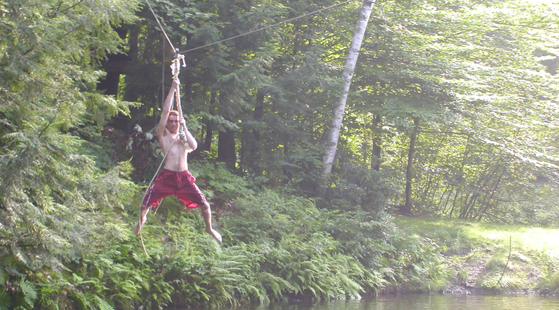 How to Build a Homemade Zipline over Water (Pond, Pool, Lake, or River)