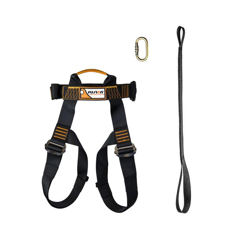 Kids Zipline Harness Kit - Zip Line Stop