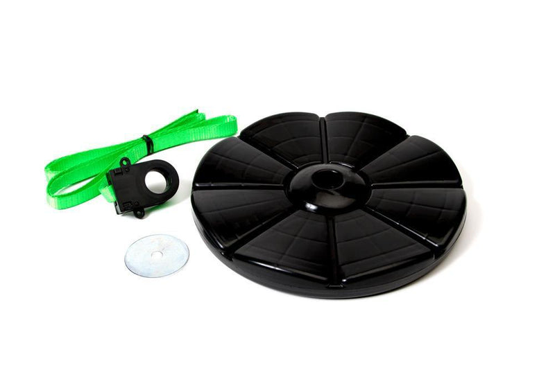 Replacement X3 Zipline Disc Seat w/ webbing - Zip Line Stop