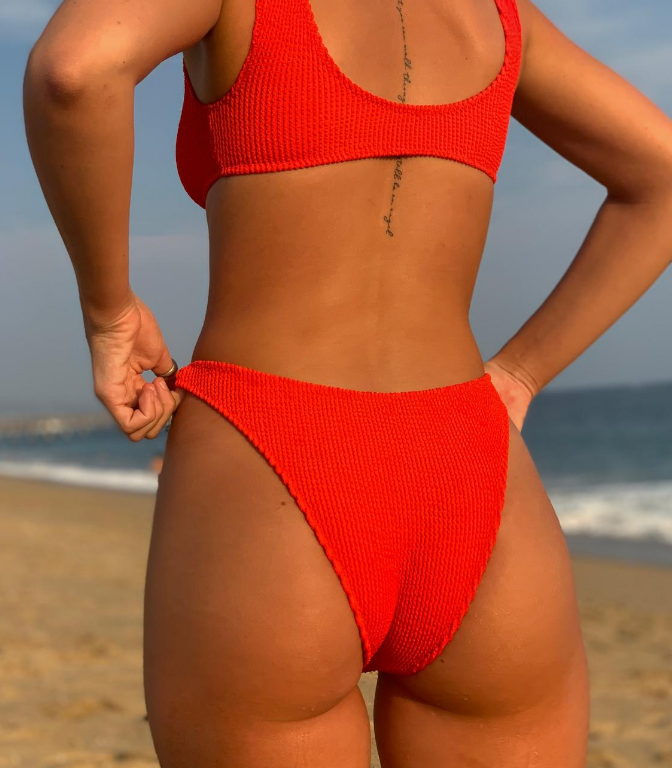 RED LAGUNA BIKINI SET
