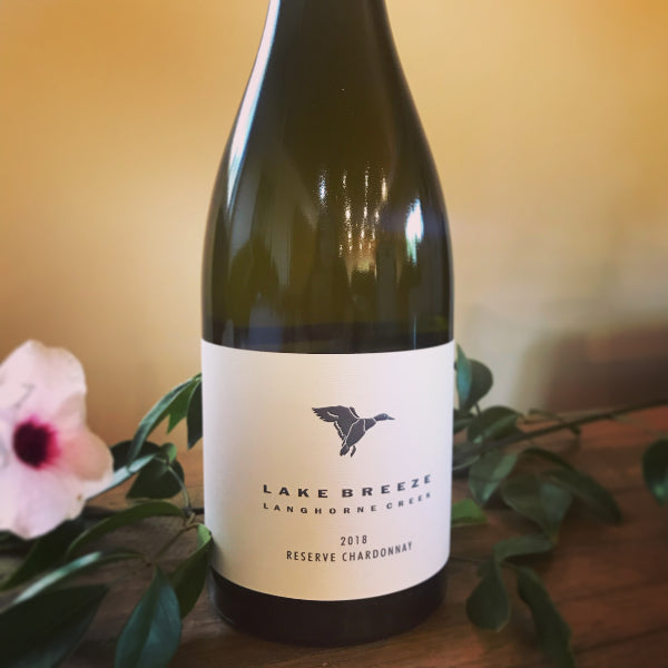 new release 2018 Reserve Chardonnay