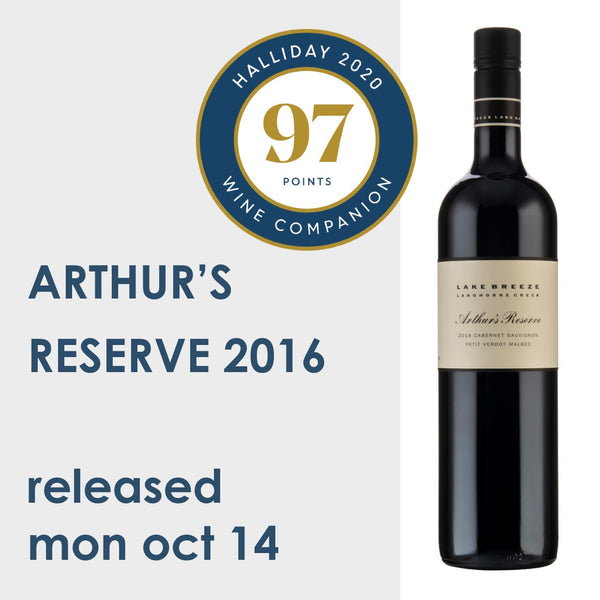 Arthur's Reserve - released Mon, Oct 14