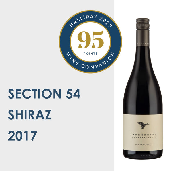 Section 54 Shiraz 2017   |   95 pts
