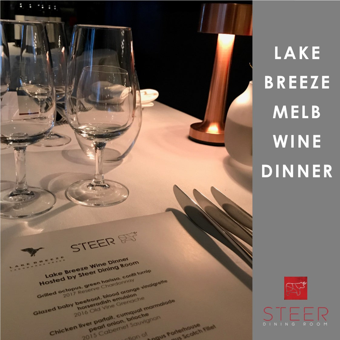 Melbourne Winemaker Dinner