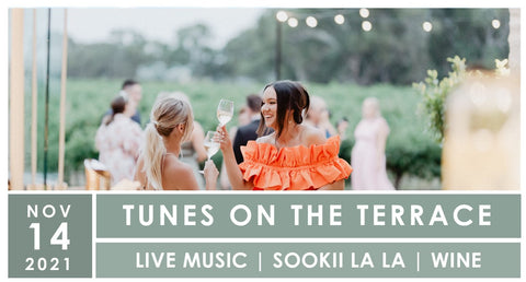 tunes on the terrace at lake breeze wines