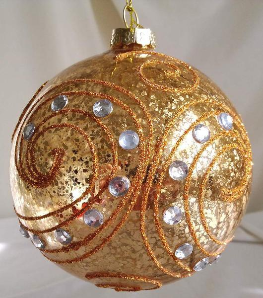 Mouth Blown Glass and Hand decorated Artisan Christmas Ornament Collection