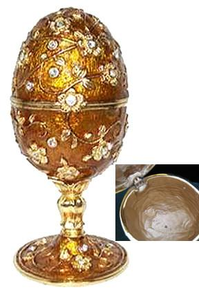 JEWELED EGG MUSICAL TRINKET BOX COLLECTION