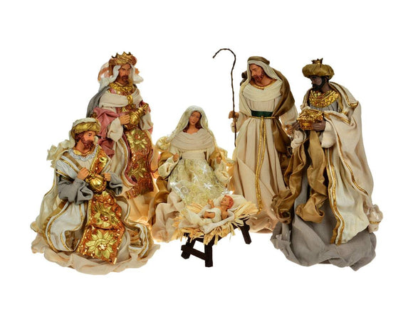 Life Size and Smaller Nativities