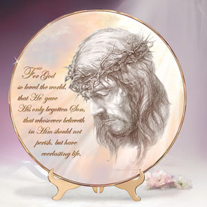 (J) * Jesus Plate * FAITHFUL PATH 0102745003-T
