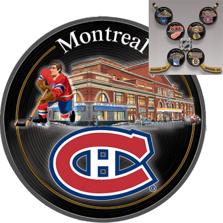 (DM) PLATE - ORIGINAL SIX-MONTREAL 0104032002-T