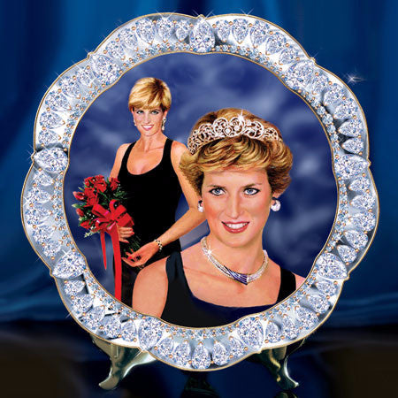 Princess Diana Collector's Plate - great Christmas gift!