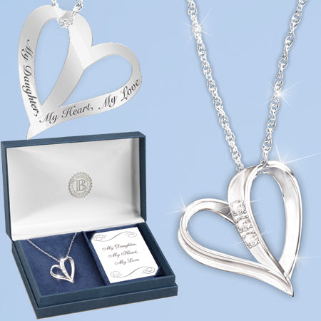 (RJH) MY DAUGHTER MY HEART PENDANT 0112297001-T