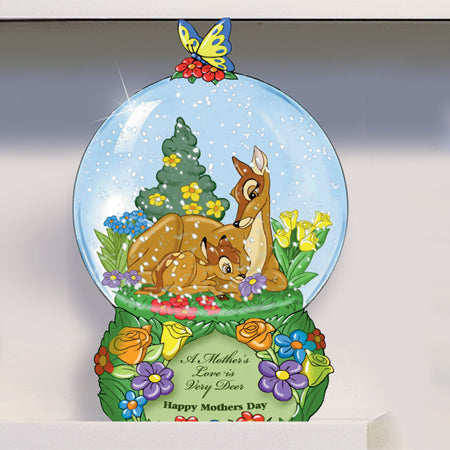 (WD) Disney VALENTINE - A MOTHERS LOVE IS VERY DEER GLOBE 0112737008-T