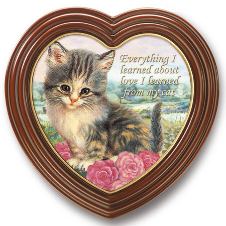 (H) Heart Plaque - Jürgen Scholz' EVERYTHING I LEARNED/CAT 0113609002-T SOLD OUT!