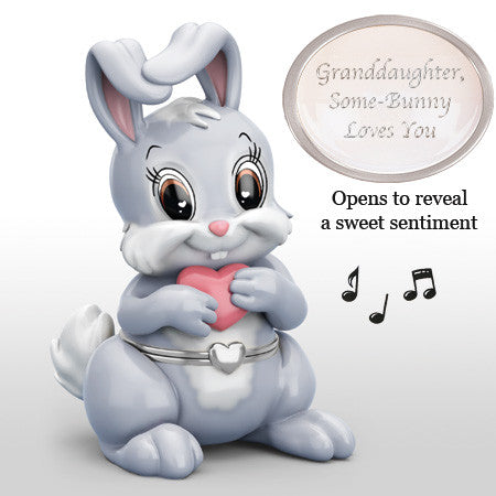SOME-BUNNY LOVES YOU (GRANDDAUGHTER)