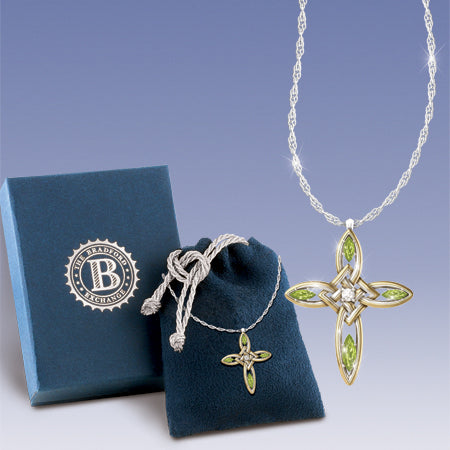 (RJ) IRISH BLESSINGS CROSS PENDANT 0114043001-T SOLD OUT!