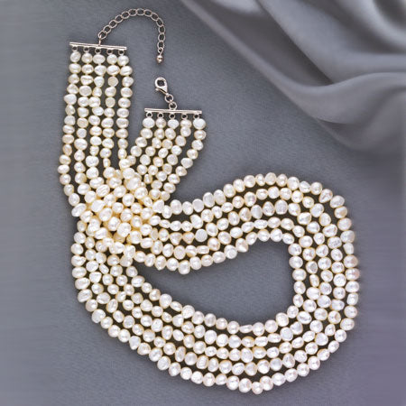 (RJO) BEAUTY'S GIFT PEARL NECKLACE 0115150001-T