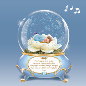 BEDTIME PRAYER GLOBE (BLUE)