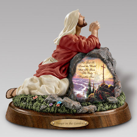 (J) *JESUS FIGURINE* PRAYER IN THE GARDEN 0116625001-T