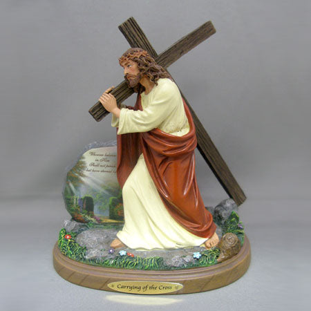 (J) *JESUS FIGURINE* CARRYING OF THE CROSS 0116625002-T