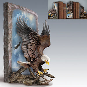 (B) BOOKENDS - Ted Blaylock's NATURE'S MAJESTY BOOKEND 0116912002-T SOLD OUT!