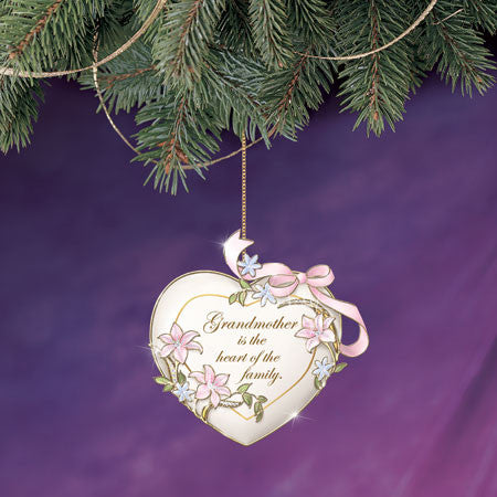 HEART ORNAMENT - GRANDMOTHE