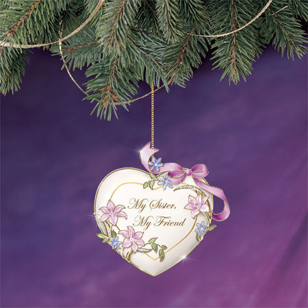HEART ORNAMENT - SISTER