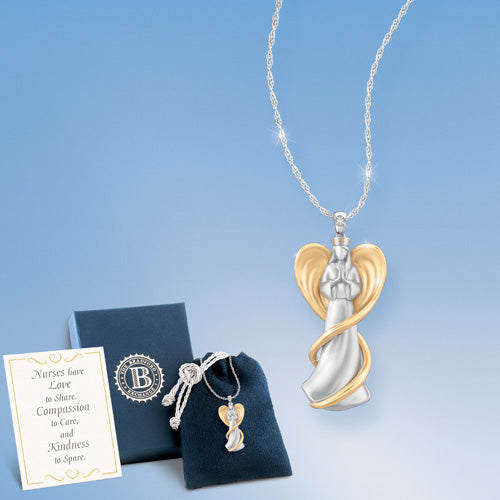 (RJ) LOVE OF AN ANGEL NURSE PENDANT 0118342001-T