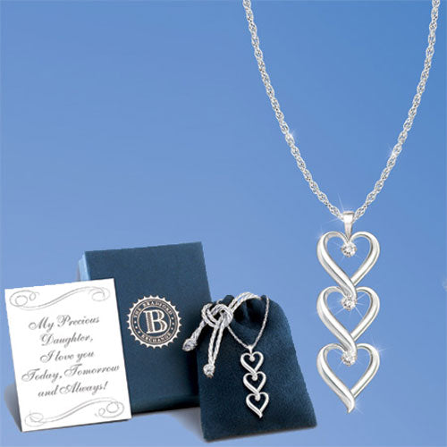 (RJH) DAUGHTER I LOVE YOU NECKLACE 0118495001-T