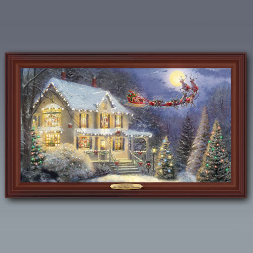NIGHT BEFORE CHRISTMAS by Thomas Kinkade