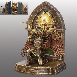 (B) BOOKENDS - ARCHANGEL GABRIEL BOOKEND 0120278001-T