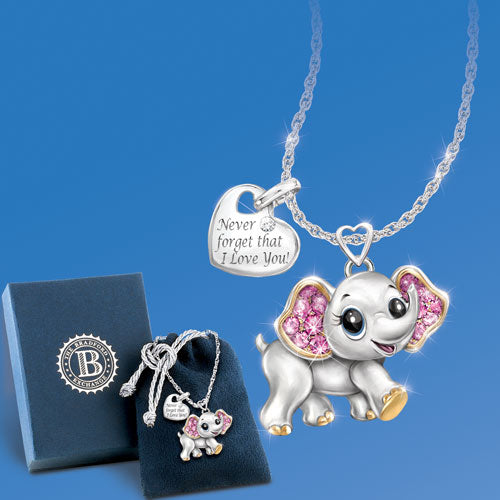 (RJH) GRANDDAUGHTER ELEPHANT NECKLACE 0120547001-T