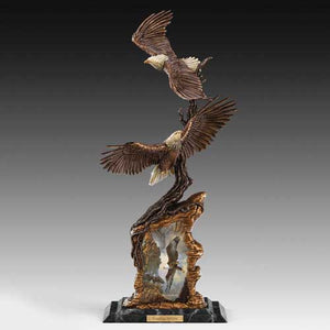 (DM) SCULPTURE - Ted Blaylock's SOARING SPIRITS 0121103001-T