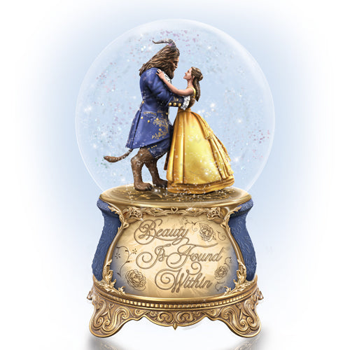 (WD) Disney VALENTINE - BEAUTY AND THE BEAST GLOBE 0126172001-T SOLD OUT!