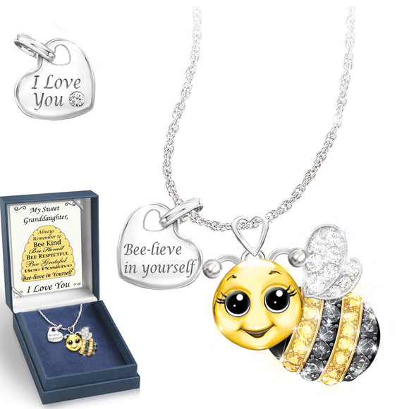 (RJH) GRANDDAUGHTER ALWAYS BEE YOURSELF PENDANT 0128464001-T SOLD OUT!