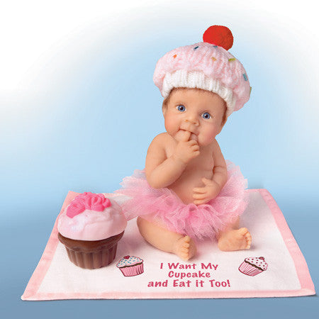 DOLL - I WANT MY CUPCAKE/EAT IT TOO