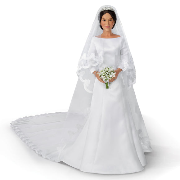(D) ROYAL FAMILY: MEGHAN MARKLE BRIDE 0301652008-T SOLD OUT!