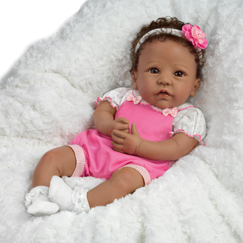(D) *Ashton Drake Collection* Tasha Baby Doll 0302625001-T