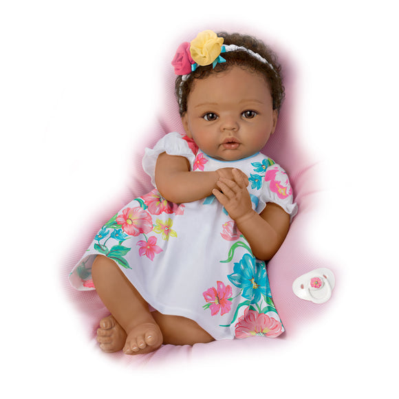 (D) *Ashton Drake Collection* Lovely Gabrielle Baby Doll 0302790001-T