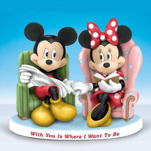 (WD) Disney VALENTINE - WITH YOU IS WHERE I WANT TO BE 0905764001-T SOLD OUT!