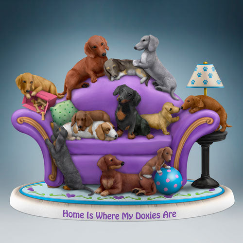 (HDA) HOME IS WHERE MY DOXIES ARE 0906435001-T