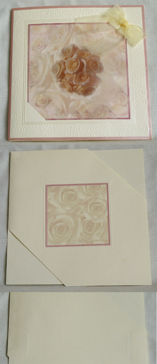(W) Wedding I - Wedding Invitations - (19 x 19 cm) 110006-T