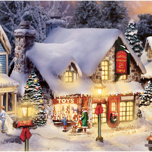 (CH) Village Christmas Collection * Santa's Workshop Toys * 1407997003-T