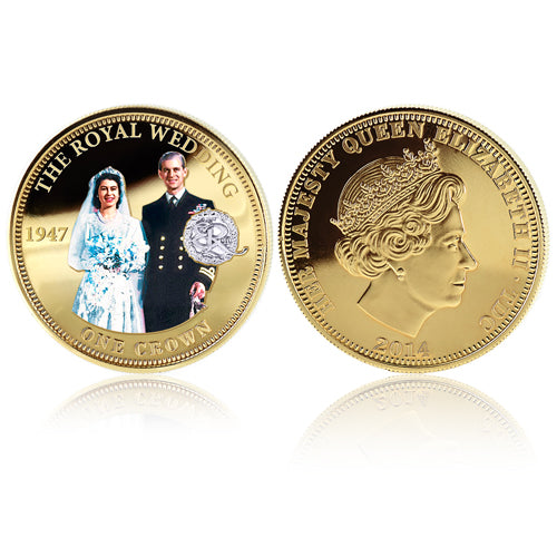 Royal Mint Coins - Royal Wedding Golden Crown 1700839005-T
