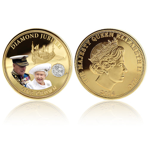 Royal Mint Coins - Diamond Jubilee Crown 1700839006-T