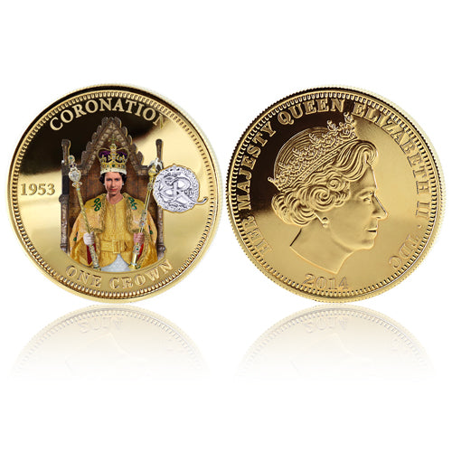 Royal Mint Coins - Coronation Golden Crown 1700839008-T