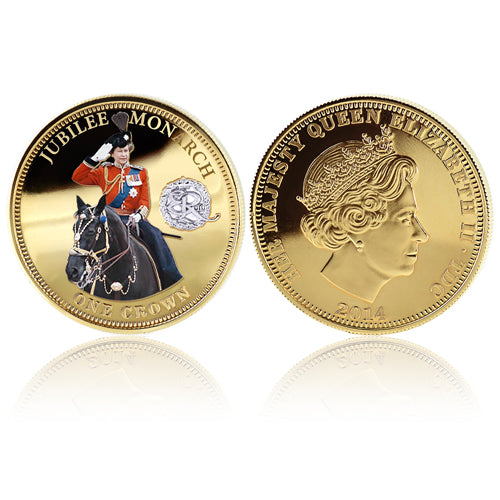Royal Mint Coins - Jubilee Monarch Golden Crown 1700839009-T