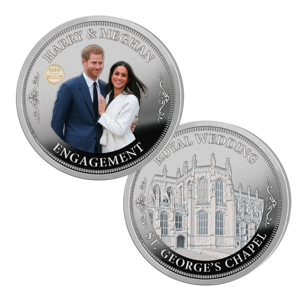 Royal Mint Coins - The Royal Engagement 1701841001-T