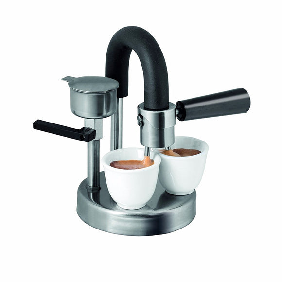 (EL) Stove Top Double Espresso Machine 128-T